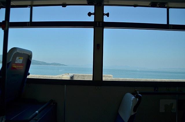小豆島バスからの車窓