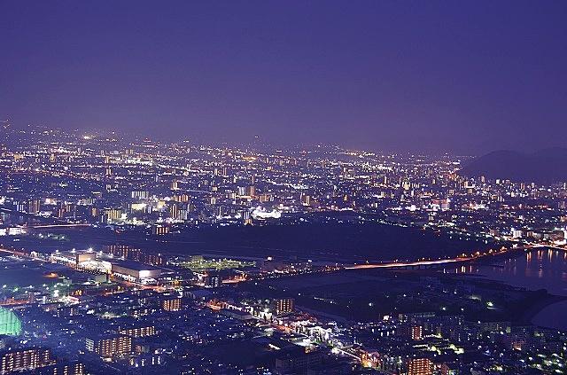 屋島山頂夜景