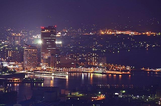 サンポート高松 夜景