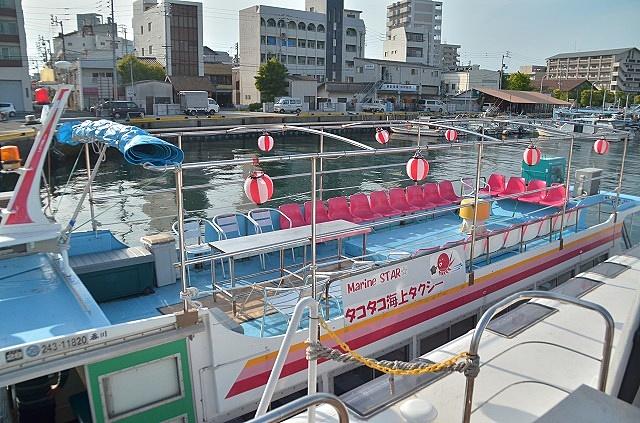 タコタコ海上タクシー