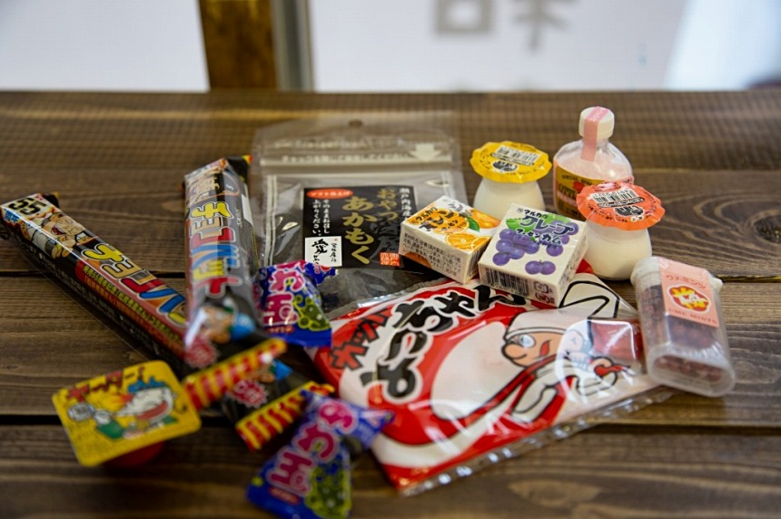 和菓屋 ~ 三条駅近に懐かしの駄菓子屋さんがひっそりとオープン