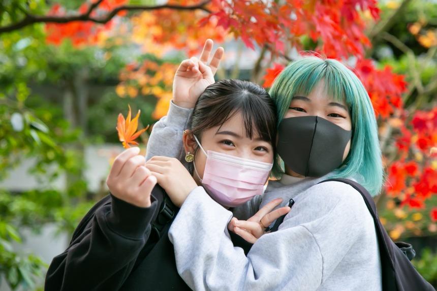 盆栽ガールズレポ#12 ~ 栗林公園の紅葉がそろそろ見ごろです! ~