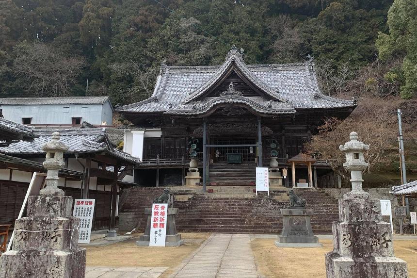 県境を越えて、こんぴらさん奥の院「箸蔵寺」へ登ってきました。