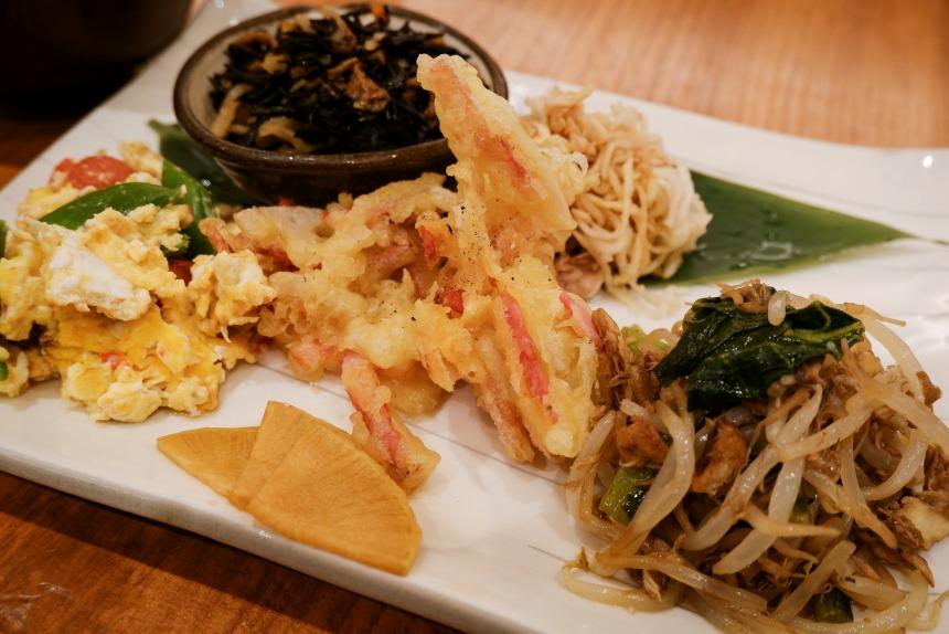 お野菜食堂SOHSOHのお野菜たっぷり玄米定食