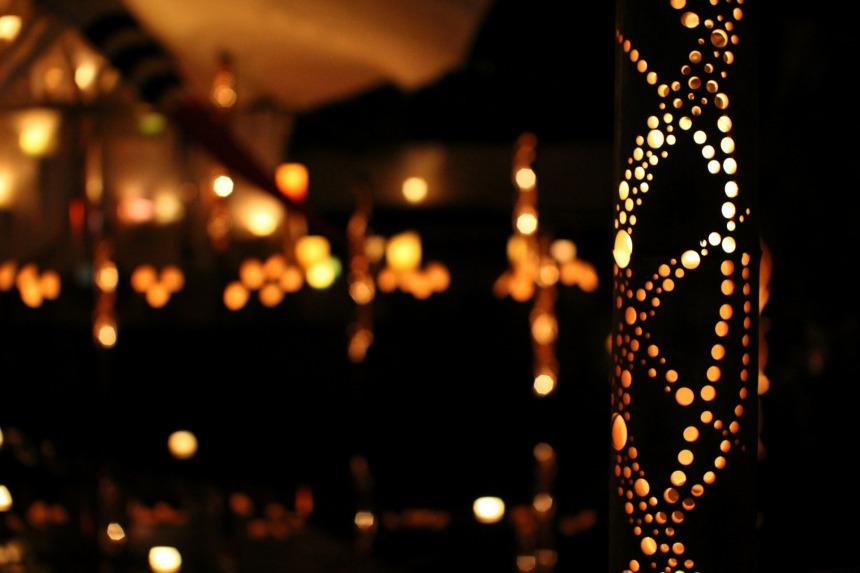 【7/22】滝宮で竹あかりの祭典「みんなの想火」開催!ワークショップを覗いてみました。