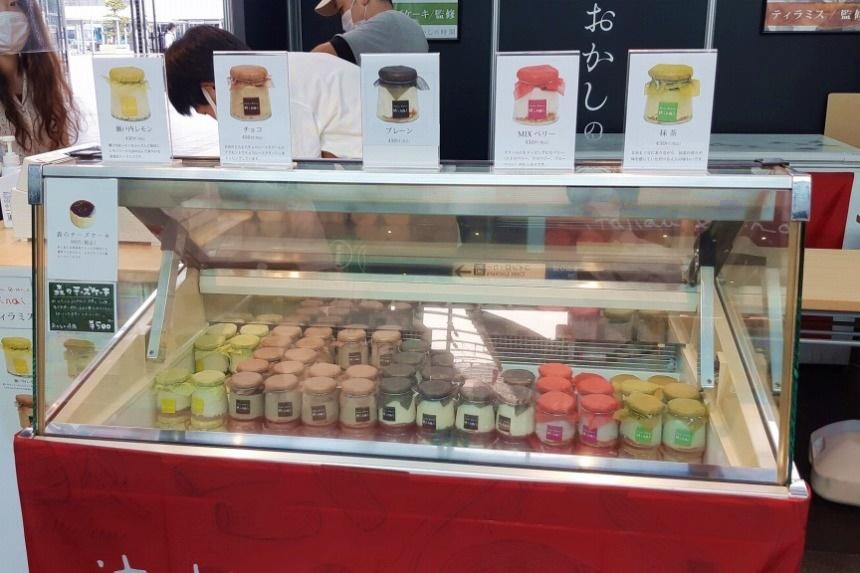 【7/20まで】高松駅で瓶詰ティラミスや焼き菓子を期間限定販売中!