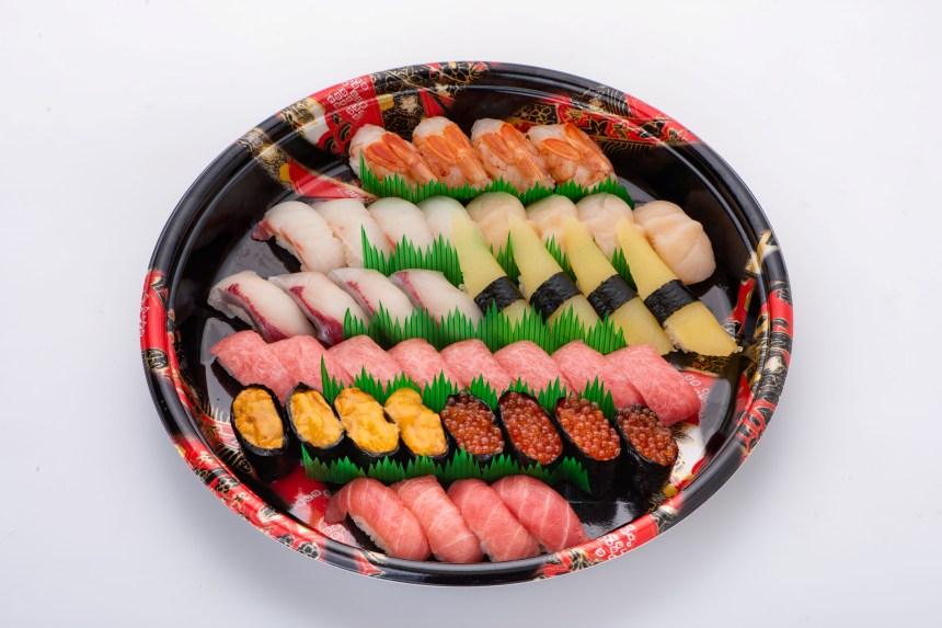 【テイクアウト情報】寿し一貫太田店の豪華ネタたっぷり握り寿司