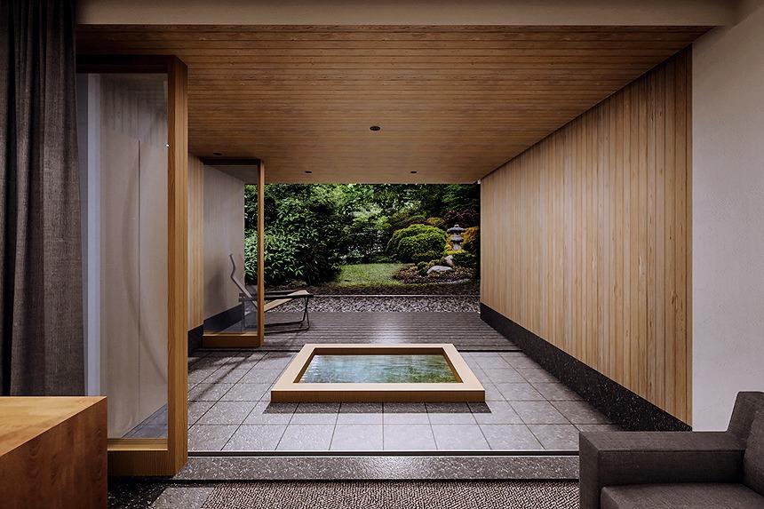 直島に全室スイートの本格旅館「ろ霞」来春オープン!先行予約受付中